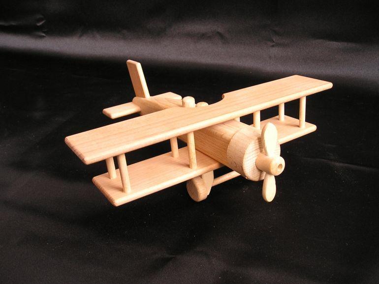Historisches Holzflugzeug Grosses Doppeldecker Mit Luftschraube Holzspielzeug Fur Kinder Lkw Flugzeuge Holzspielzeug Fur Kinder Holzgeschenke Holzspielzeug