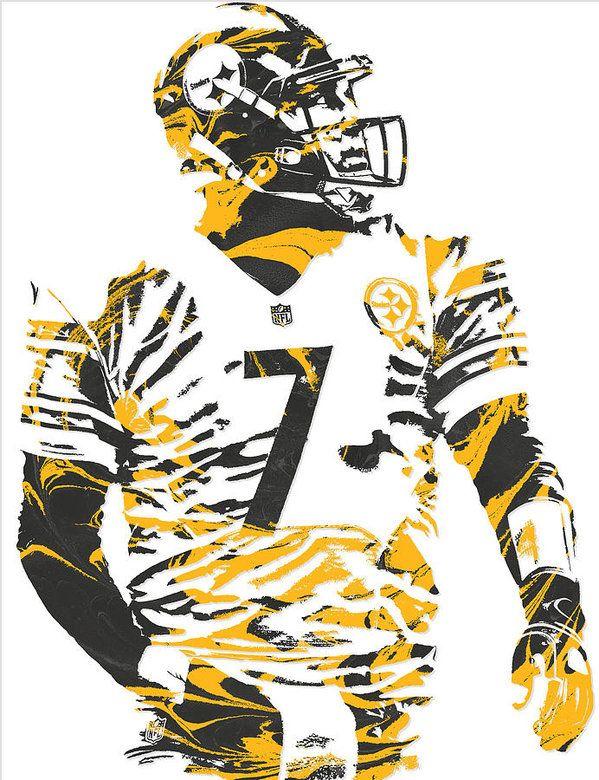 Ben Roethlisberger Pittsburgh Steelers Pixel Art 6 Art Print By Joe Hamilton In 2021 Pittsburgh Steelers Pittsburgh Steelers Football Pittsburgh Steelers Wallpaper