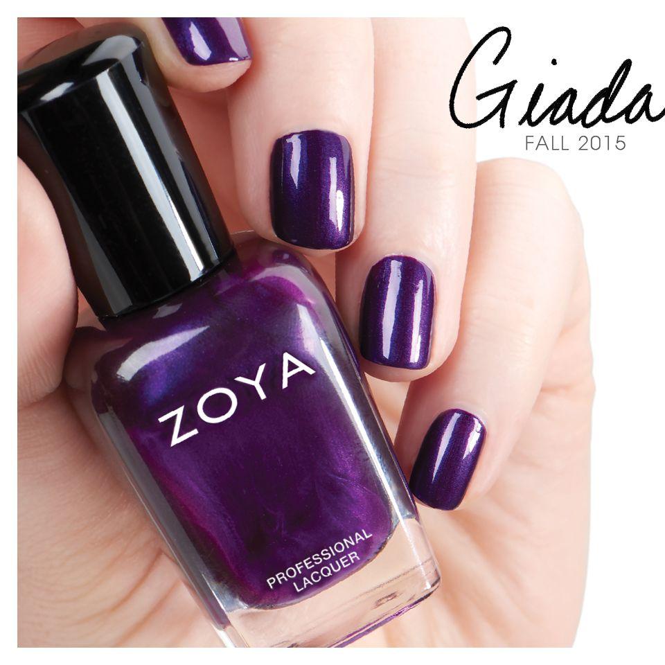 Zoya Giada from the Flair Collection | Fall Nail Polish | Pinterest ...