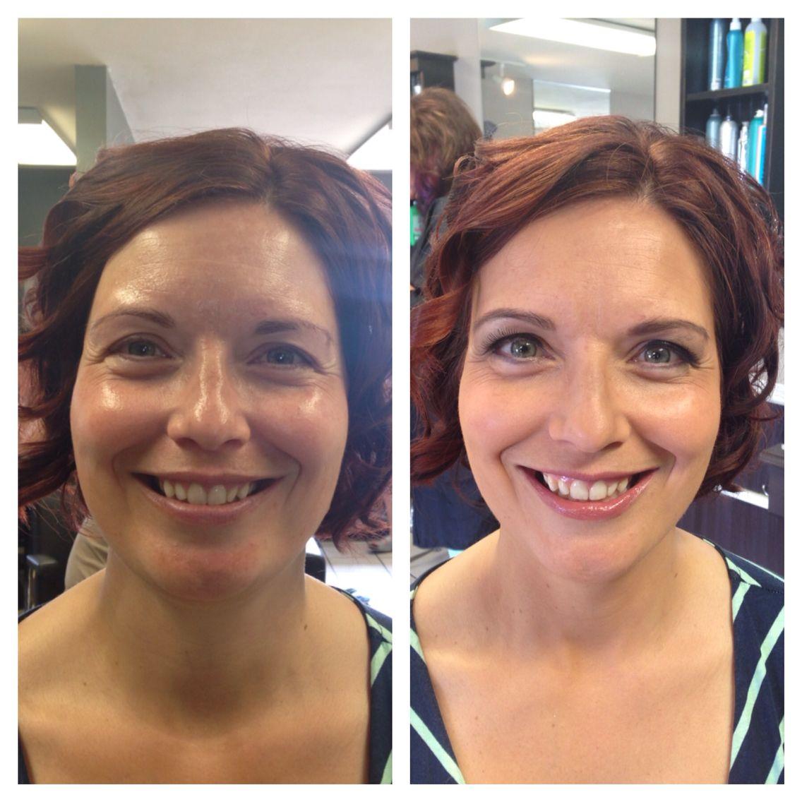 Before After Makeup Makeup Artist Bobbie Sue Baker Estilo Hair