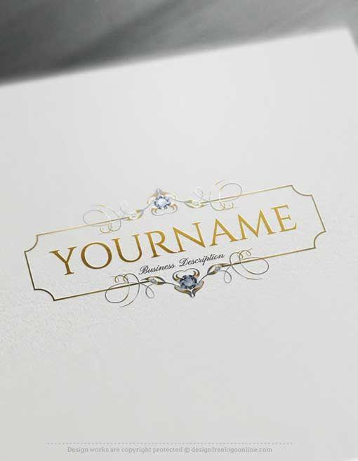 Free Luxury Logo Maker Online Diamonds Logo Design Logo Maker