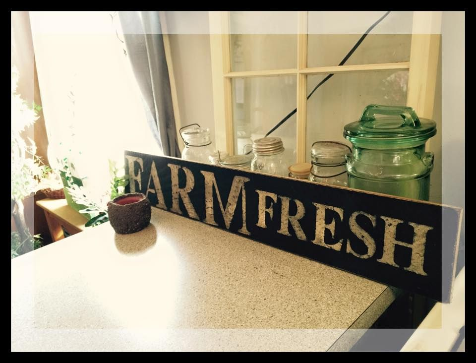 Country Decor Wood Signs Enchanting Farm Fresh Wood Sign $1000 Country Primitive Signs Signs Design Ideas