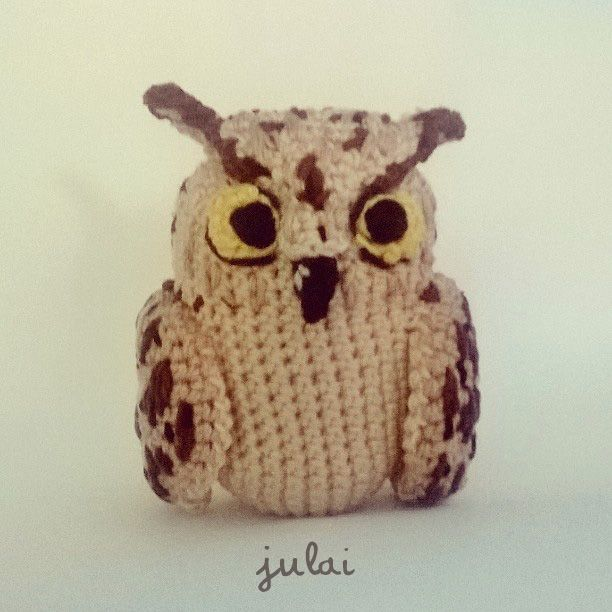 The owl Bertuccio Amigurumi plush by Tofe-lai on DeviantArt ...