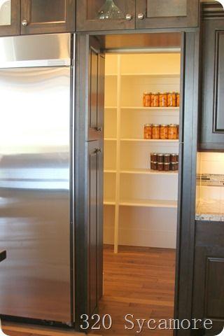 Fridge Looked Like Cabinets