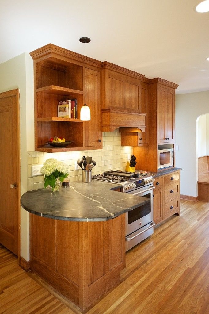 Updated Tudor Kitchen Remodel