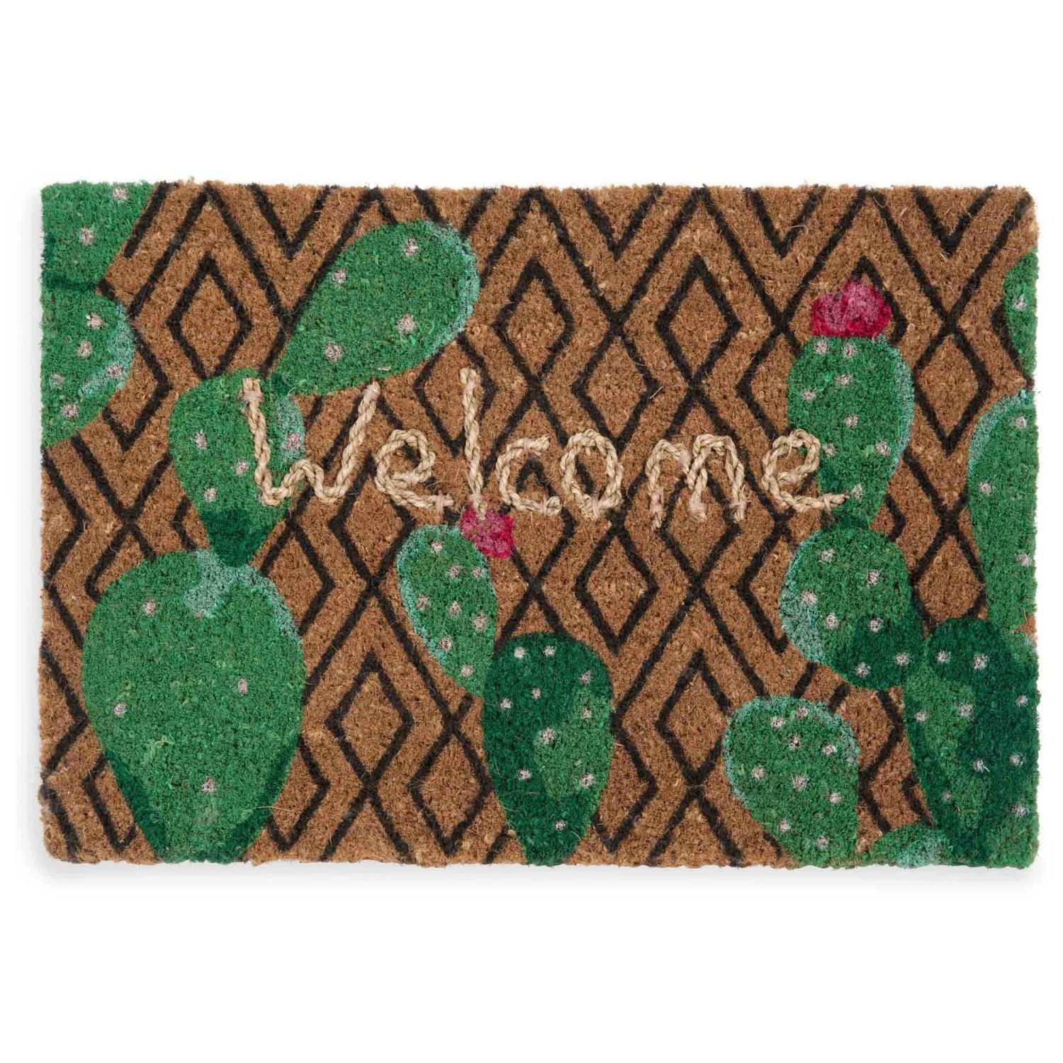 Welcome Cactus Doormat 40 X 60 In 2019 House Cactus Kids Rugs