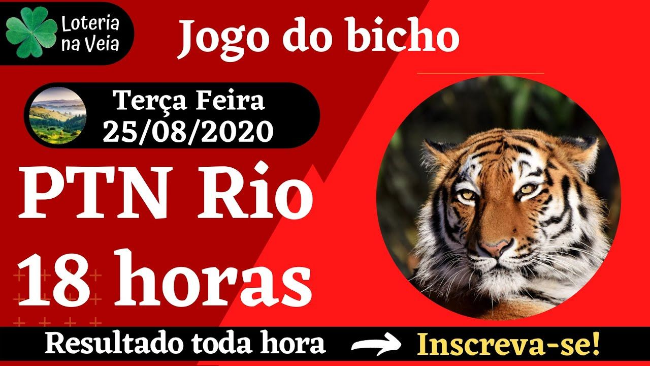 Resultado jogo do bicho PTN rio 18hs 25 08 2020 terça feira em 2020 |  Resultado jogo, Jogos, Rio