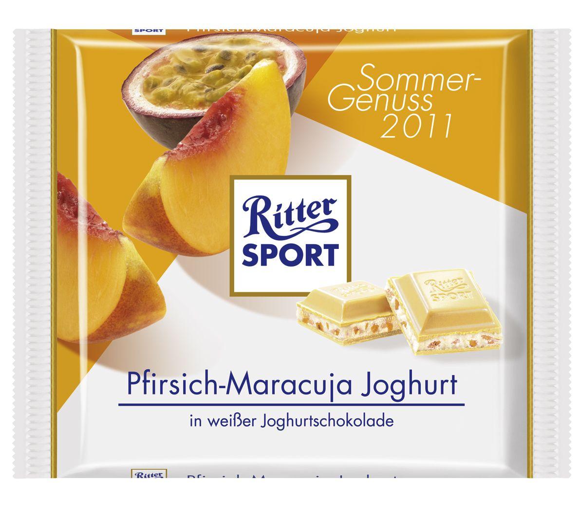 RITTER SPORT PfirsichMaracuja Joghurt (2011) Ritter