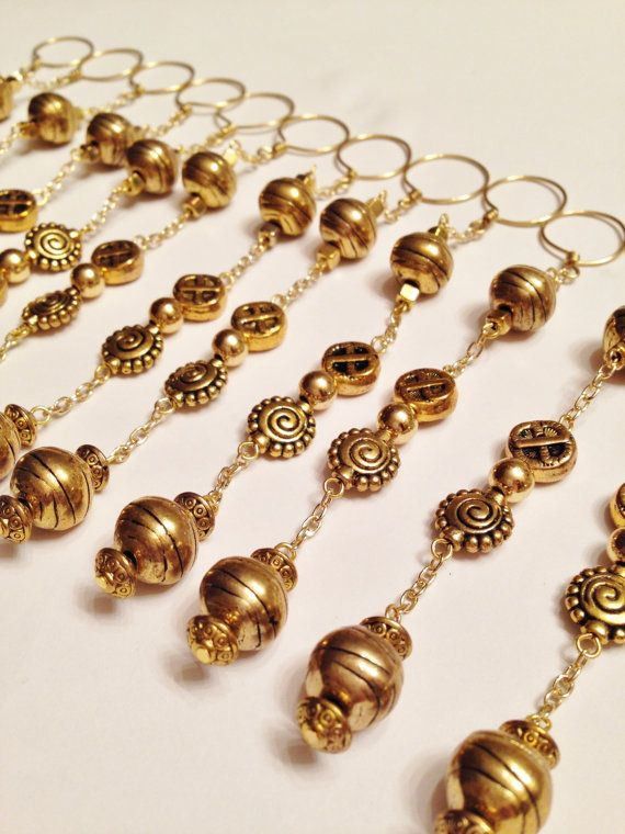Gold Shower Curtain Hook Decorations 4 75 By Mariesseasonalities