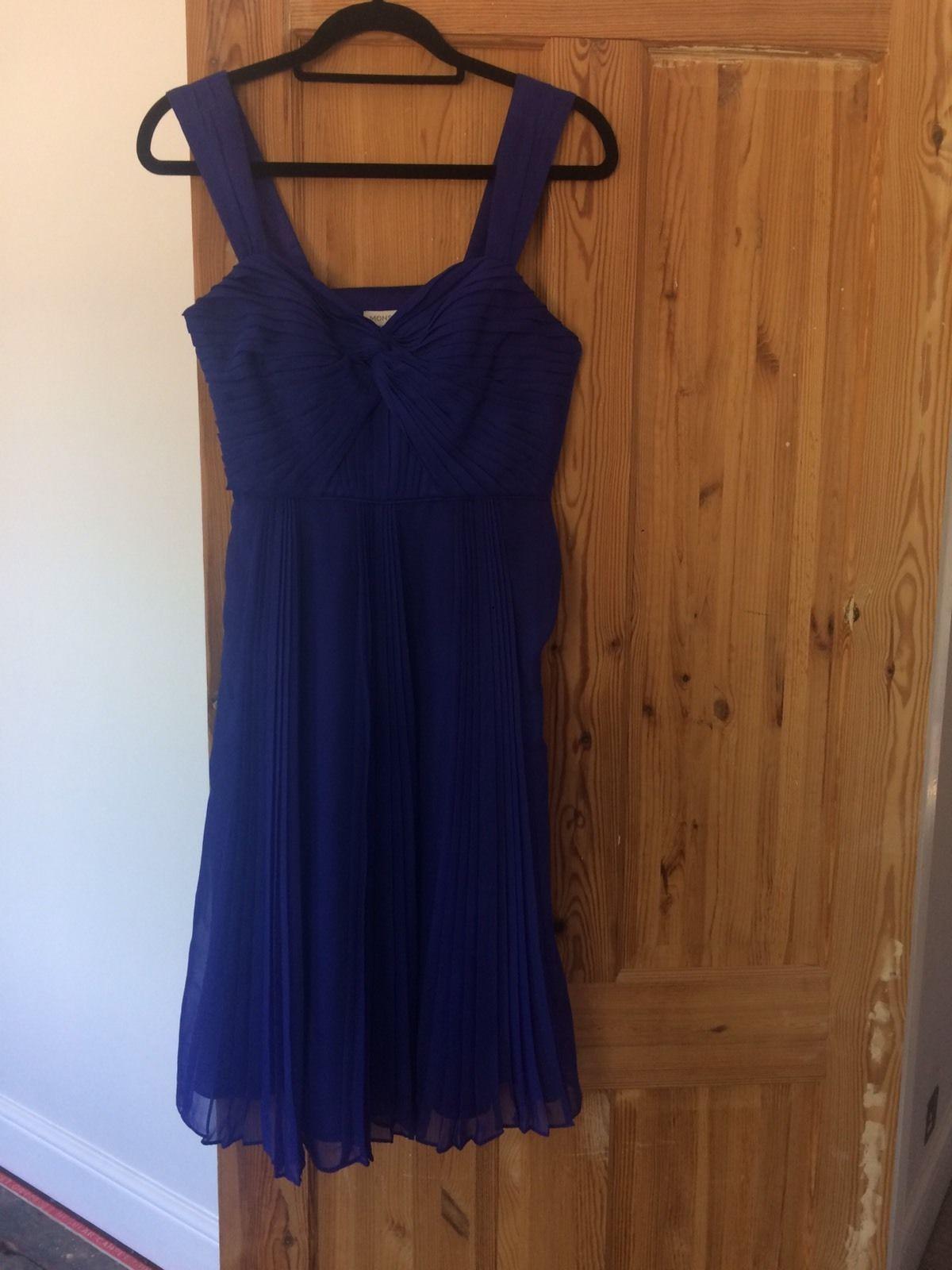 Nice stunning blue monsoon bridesmaidwedding guest dress size
