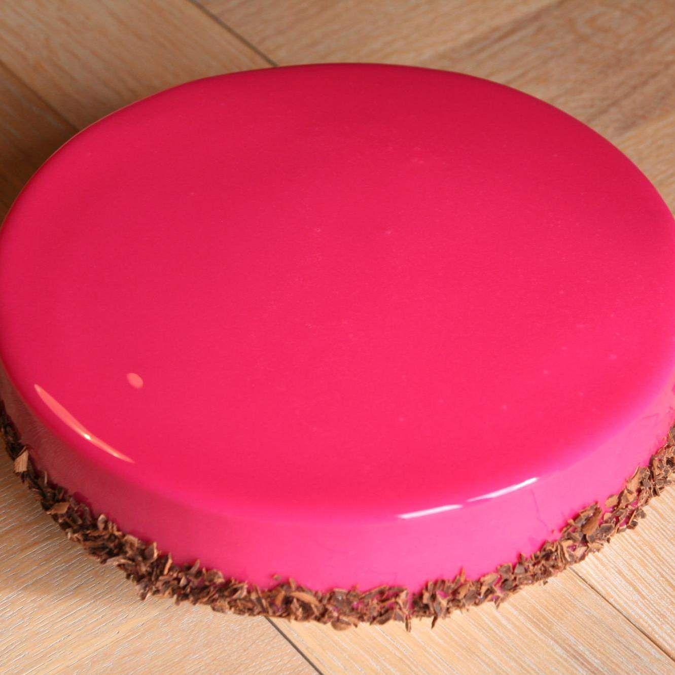 gla age miroir rouge recette birthday kids cakes pinterest desserts mirror glaze cake. Black Bedroom Furniture Sets. Home Design Ideas