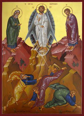 IC.XC__ Η Μεταμόρφωσις του Χριστού,    (  The Transfiguration of Christ, Преображение Господне