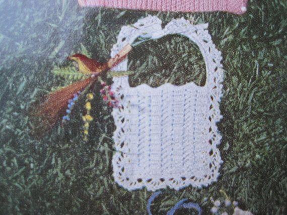 Crochet Pattern Baby Bib by KendallsCrochet on Etsy