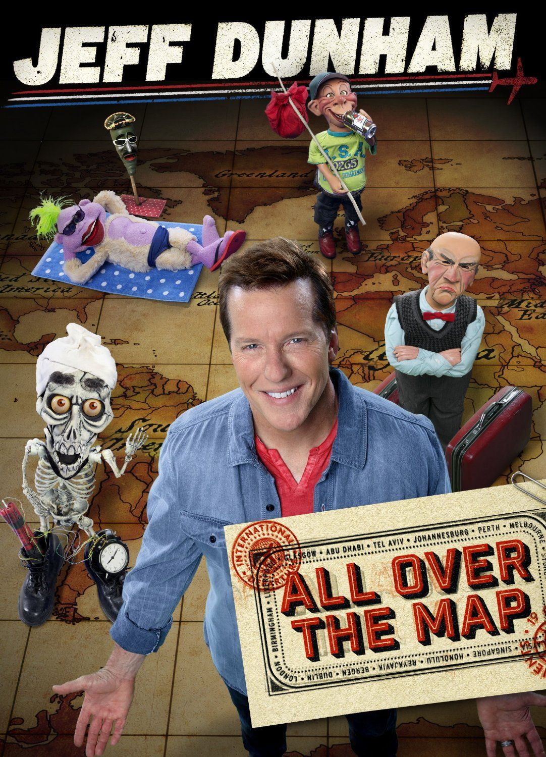 Popular ventriloquist Jeff Dunham brings his most famous friends