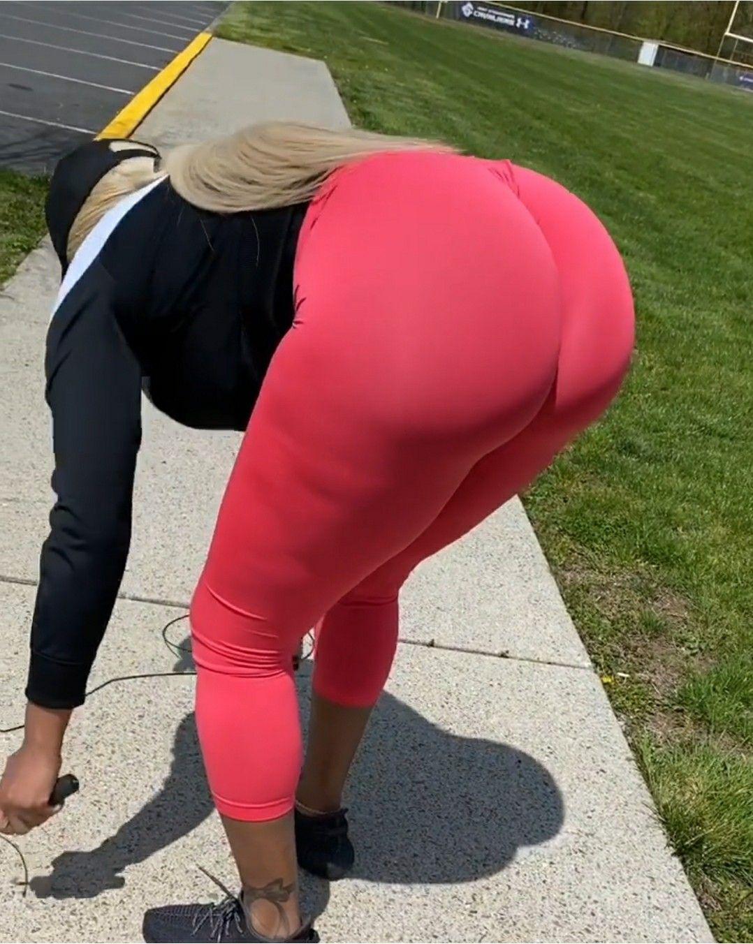 Big Black Booty Yoga Pants