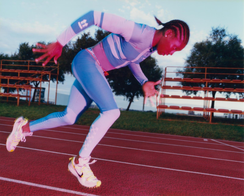Nike X Off White Athlete In Progress Women S Collection Featuring Ca Athlete Track And Field Athlete Nike Zoom