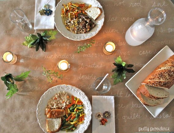 Healthy romantic dinner ideas for two