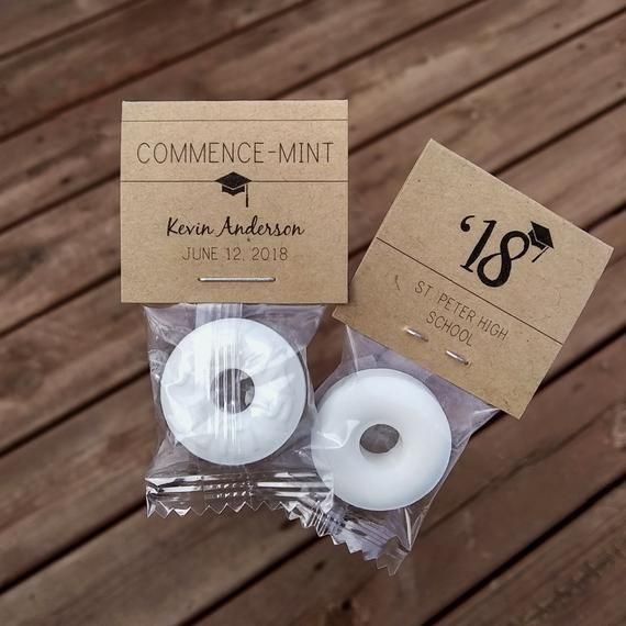 e9a60a54a67 No better way to celebrate your 2018 or 2019 graduate than with these  customized Commence-Mint™ graduation mints! Beautiful set of 50 custom  graduation ...