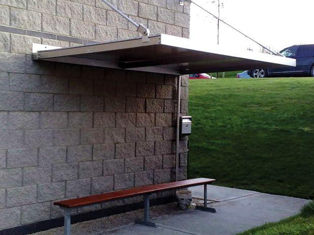 Covered Smoking Shelters : Smoking shelters gazebo safety