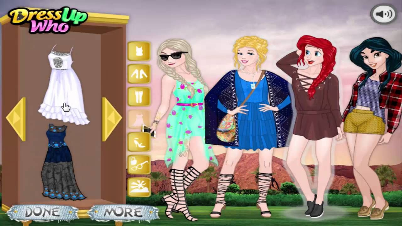 Disney Princess Dress Design - Girl Games 8