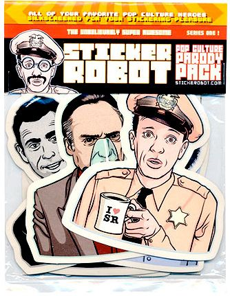 Sticker robot pop culture parody pack http stickerobot com store