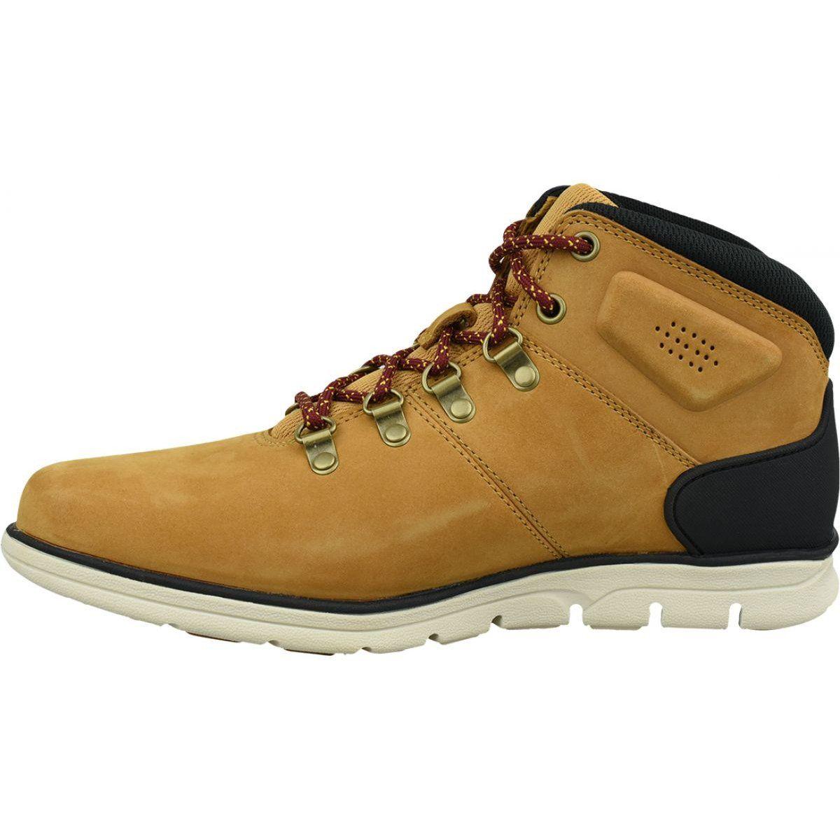 Timberland Bradstreet Hiker M A26yz Shoes Orange Timberlands Shoes Shoes Timberland