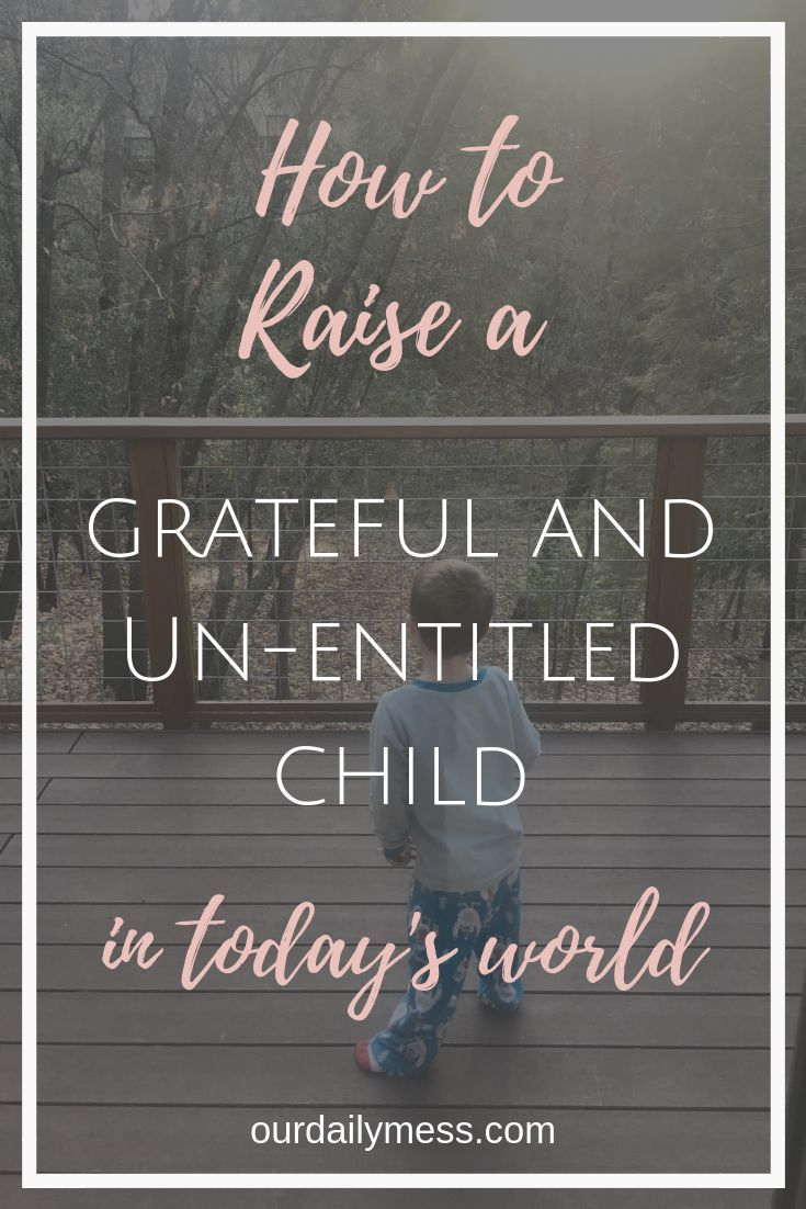 How Entitlement Steals Our Kids' Joy #parenting