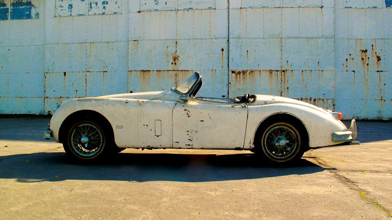 Completely original 1958 Jaguar XK150S OTS for sale