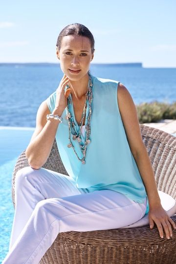 Seaside Style Outfit includes Vigorella, bird keepers, and Lavish - Birdsnest Online Clothing Store