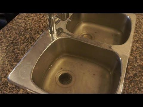 Clogged Drain How To Unclog A Clogged Kitchen Sink Easy Fix Kitchen Sink Clogged Sink Clogged Drain