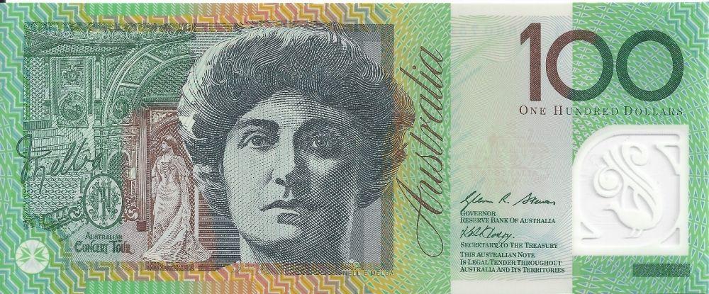 100 Dollars Australia S Banknote Back 2011 Bank Notes Dollar Banknote Currency Design