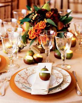 Brides Rustic Fall Wedding Tablescape Capture The Essence Of A Country Orchard Pin