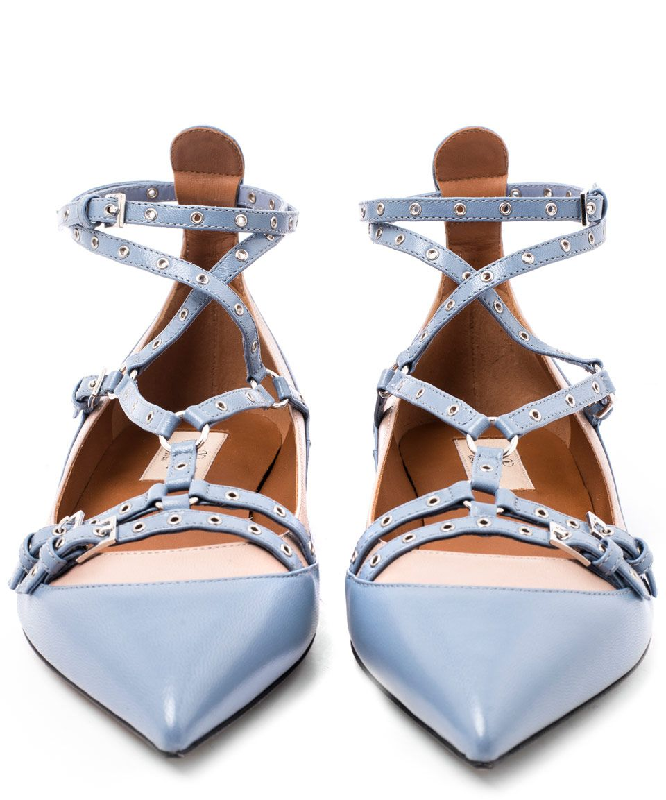 Valentino Lovelatch T-Bar Leather Ballerina Flats  shoes  omg   beautyinthebag c4398fad3fd