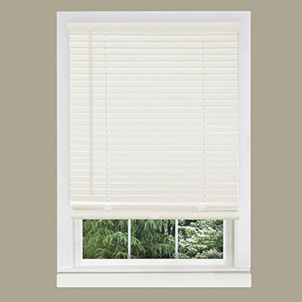 36 inch window blinds - Achim Home Furnishings 1 Inch Wide Window Blinds 36 By 64 Inch