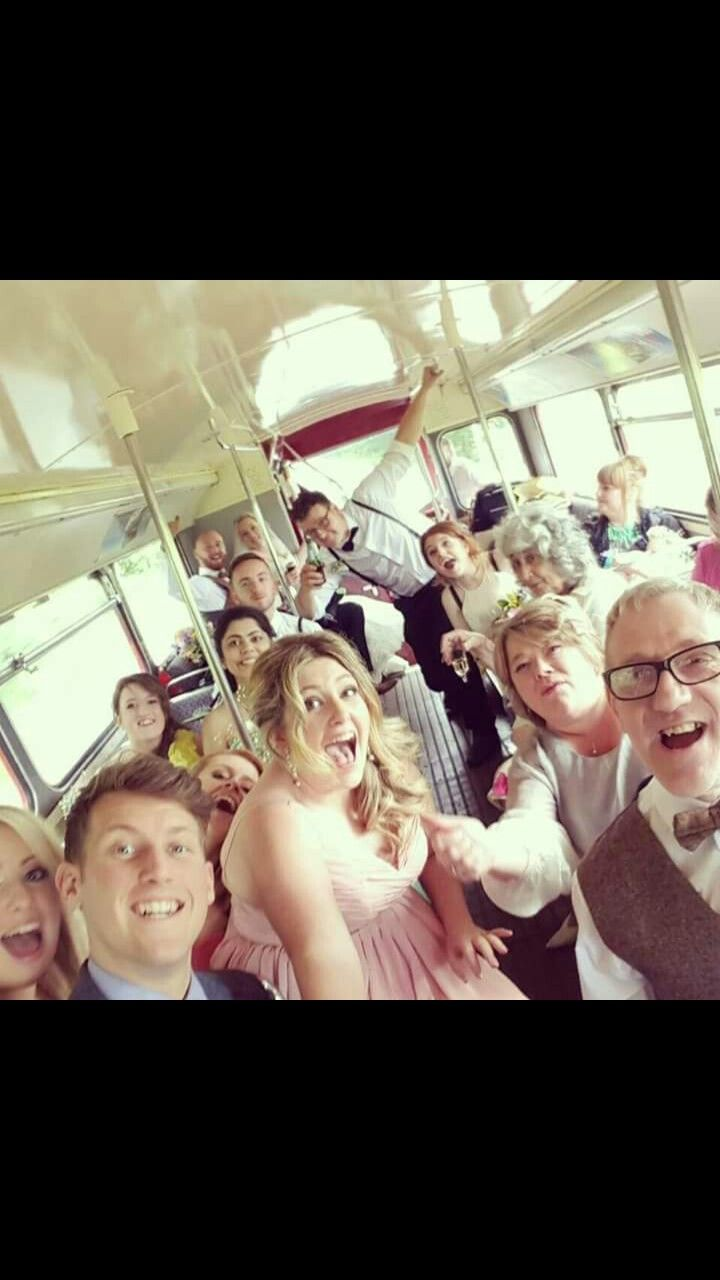 Bus group photo with the selfie stick! Never underestimate the beauty of these inventions!