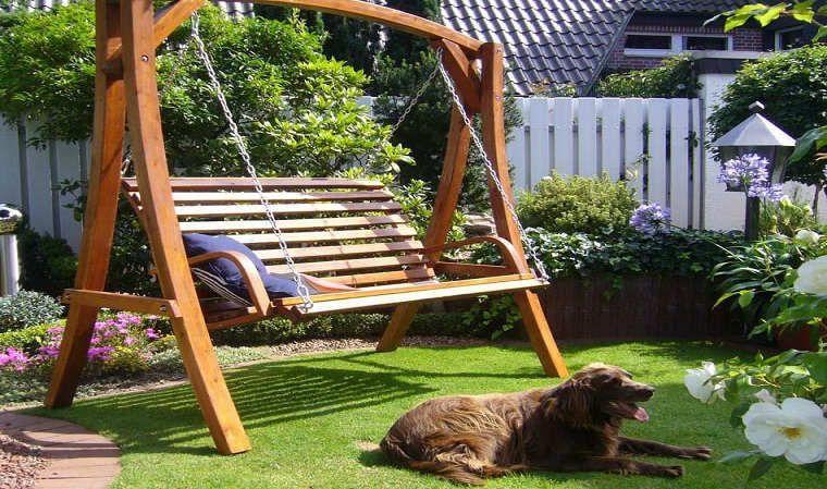 balancelle ambiance en bois jardin pinterest balancelle en bois et ambiance. Black Bedroom Furniture Sets. Home Design Ideas
