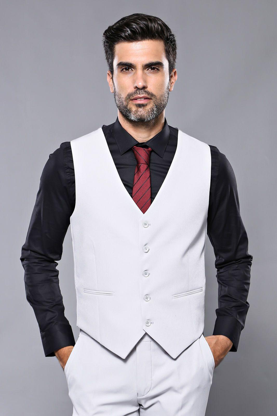 Beige slim fit 3 piece suit l clothing supplier in 2020