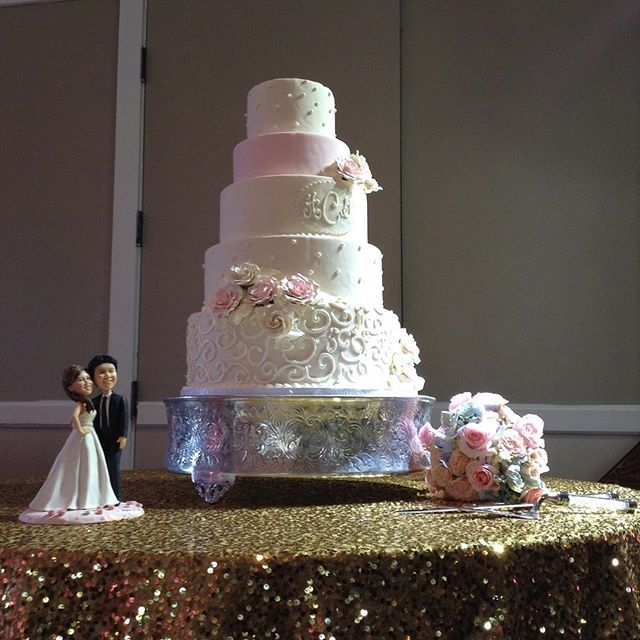 Another Beautiful Cake By Old Towne Danville Bakery