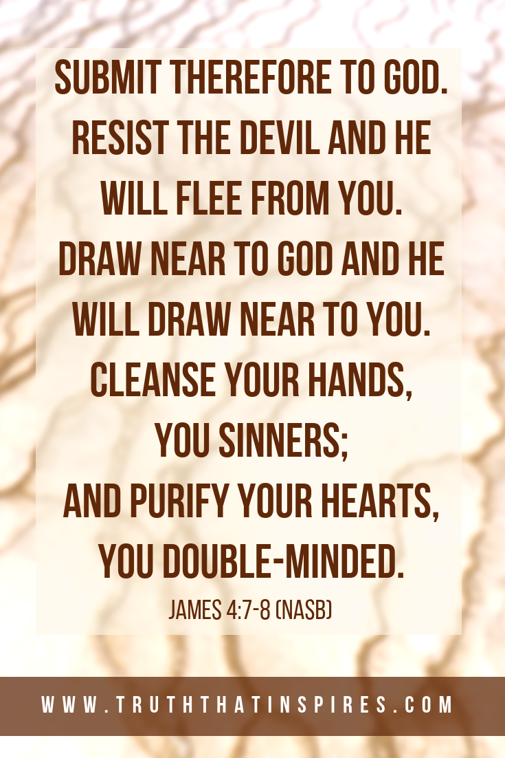 Draw Near To God And He Will Draw Near To You Such Comforting