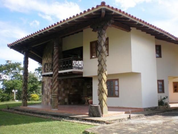 Casas campestres ideias para a casa pinterest casas - Casas rurales prefabricadas ...