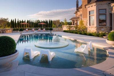 Luxury Home At Kleinburg Vaughan Real Estate Portal Pools Backyard Inground Patio Deck Building A Pool