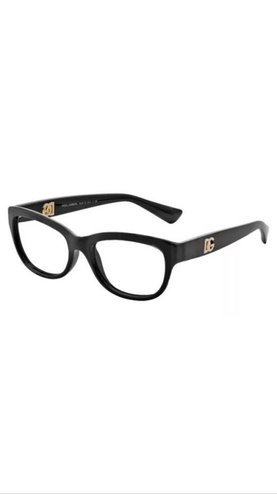 98ad5aad74 Dolce   Gabbana Eyeglasses D G DG5011 DG 5011 501 Black Optical Frame  54mm 2746  DolceGabbana