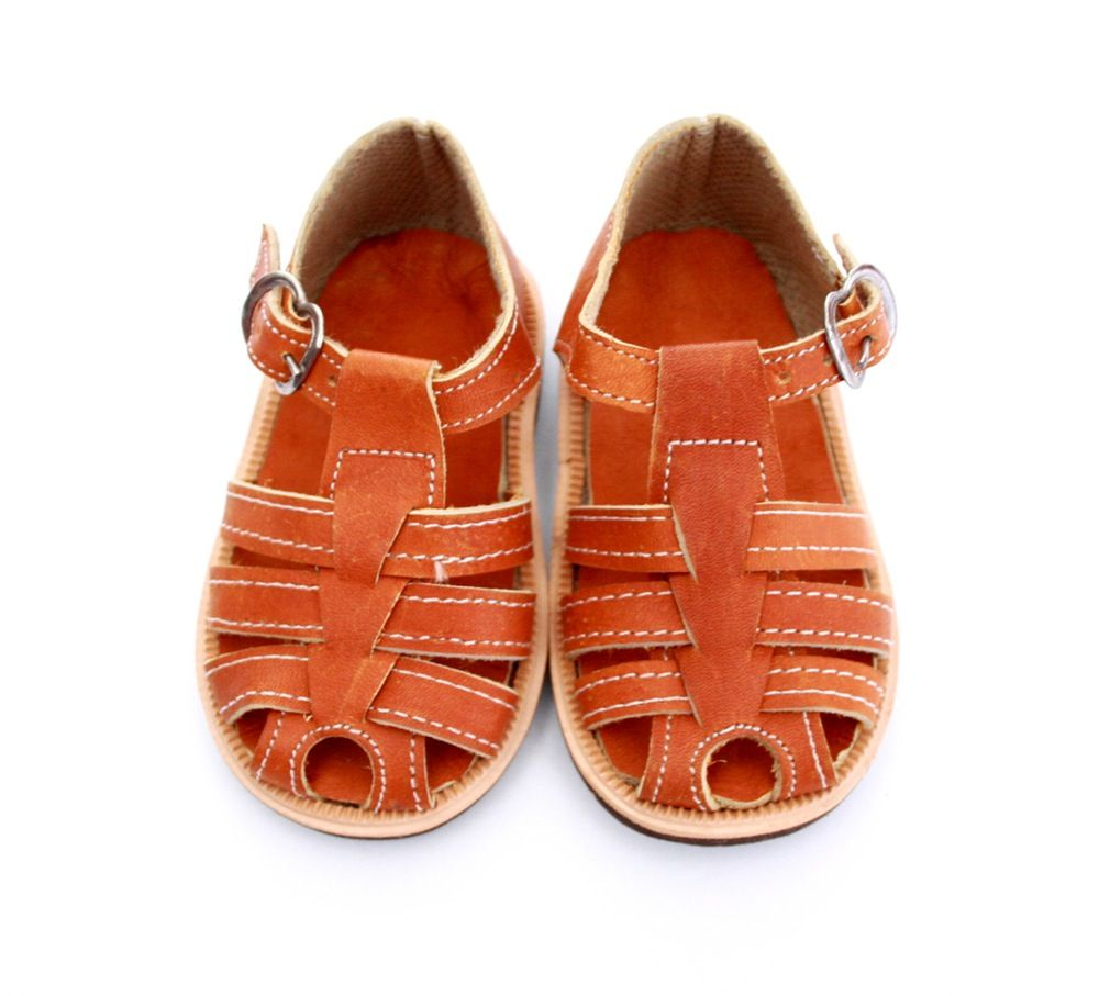58b651ac22f There gorgeous leather baby sandals are handmade in Nicaragua by local  artisans.The appearance look of the Masaya shoe changes with the size - so  please see ...
