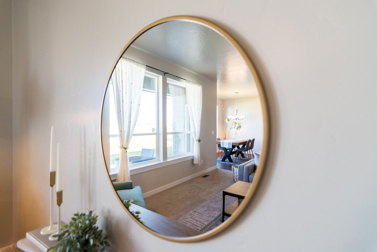 Reflect the beauty of your home by decorating with mirrors. This ...
