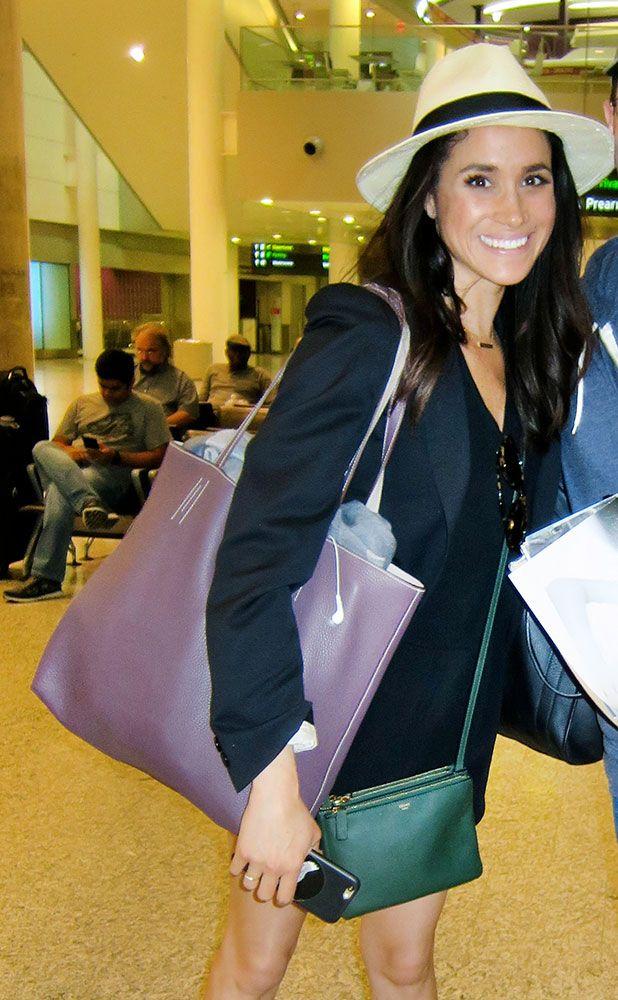 Take a Look at Future Royal Meghan Markle's Handbag History - PurseBlog
