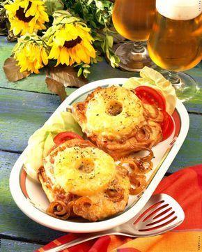 Schnitzel-Toast Hawaii Rezept | LECKER