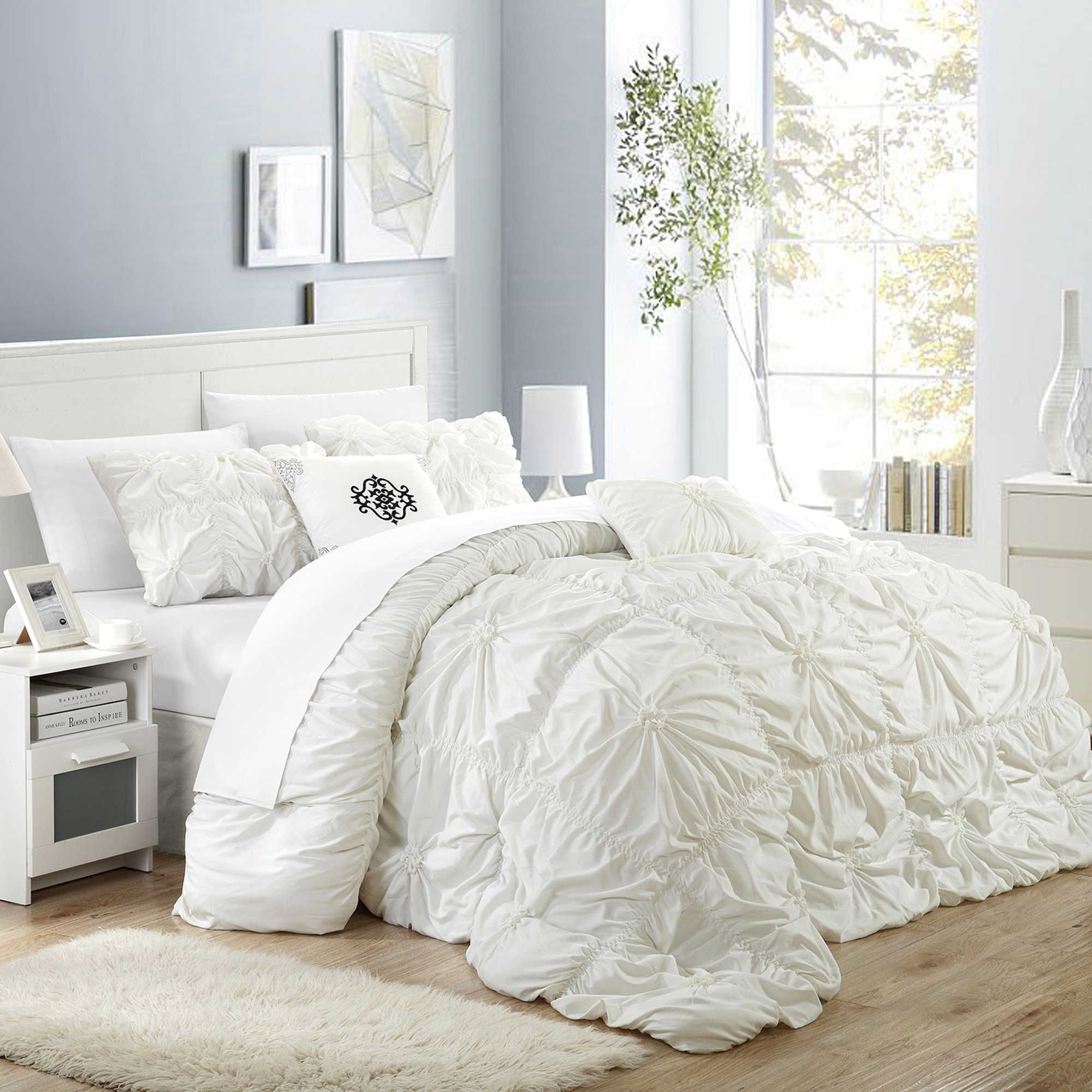 Chic Home Hilton 6 Piece Comforter Set Comforter Sets Chic Bedroom Shabby Chic Bedrooms