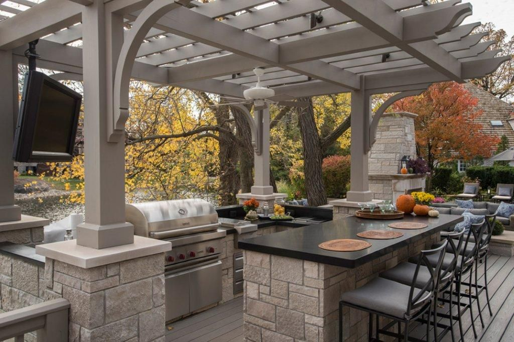 enjoy the great outdoors even more with your very own wolf bbq grill outdoor kitchen design on outdoor kitchen bbq id=73567