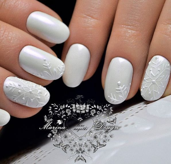 Маникюр | Видео уроки | Art Simple Nail winter nails - http://amzn ...
