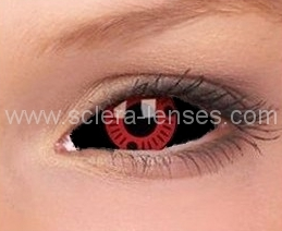 Sclera Contact Lenses Contact Lenses Red Contacts Lenses Black Contact Lenses